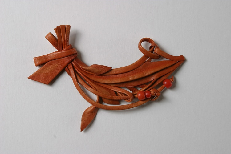 Brooch/clothing decoration, c. 1985 - Mila Gokhman