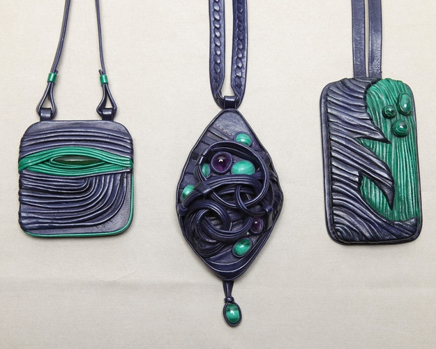 My Estonia pendants, 1980 - Mila Gokhman