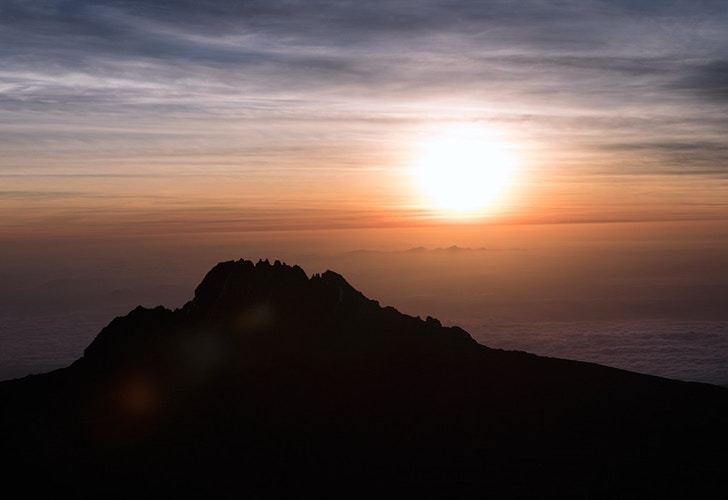 Kilimanjaro sunrise - Photography by Milos Markovic
