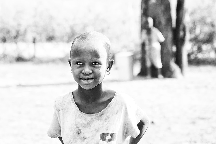 Masai child - Photography by Milos Markovic
