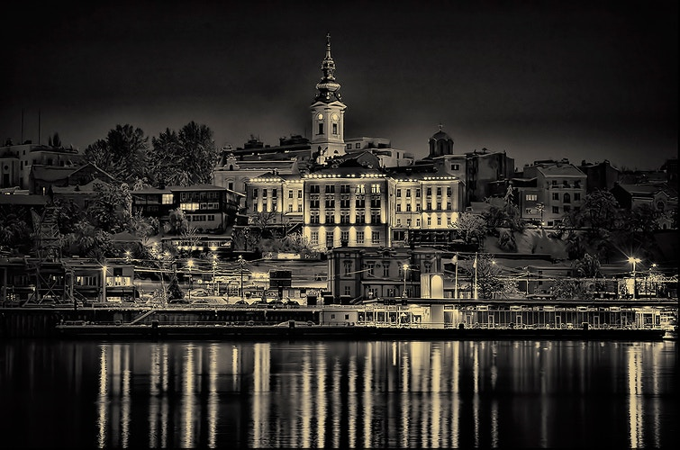 Lights of Belgrade - Photography by Milos Markovic