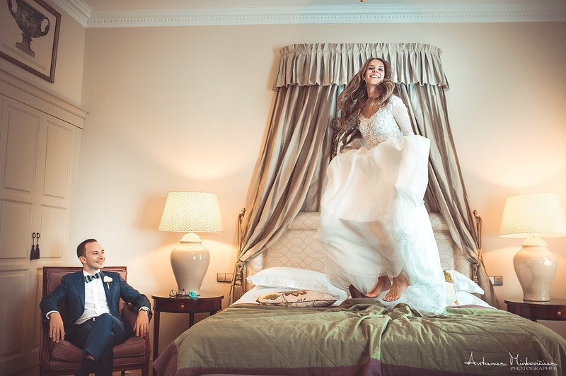 Wedding - Sensual Boudoir photography