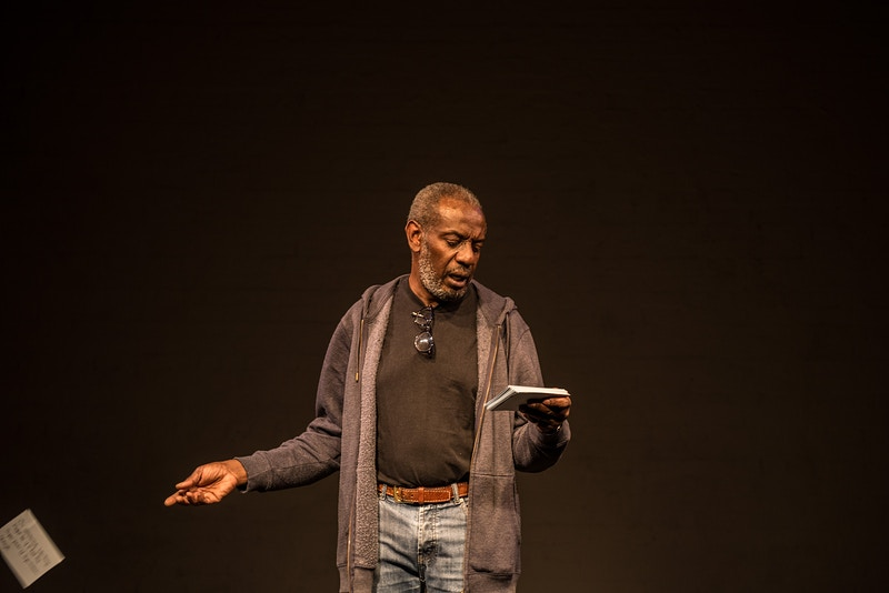 To Move in Time by Tim Etchells & Forced Entertainment with Tyrone Huggins - The Catcher