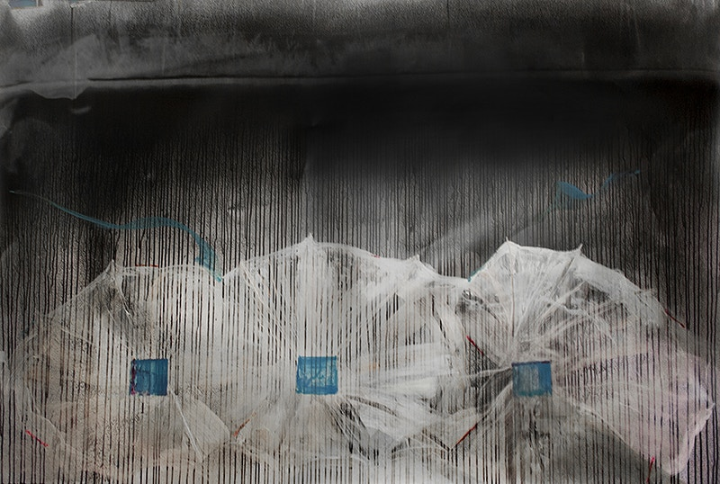 The Difficult Occlusion of Night and Daturas: Number 6 - Michael E Pointer Fine Art