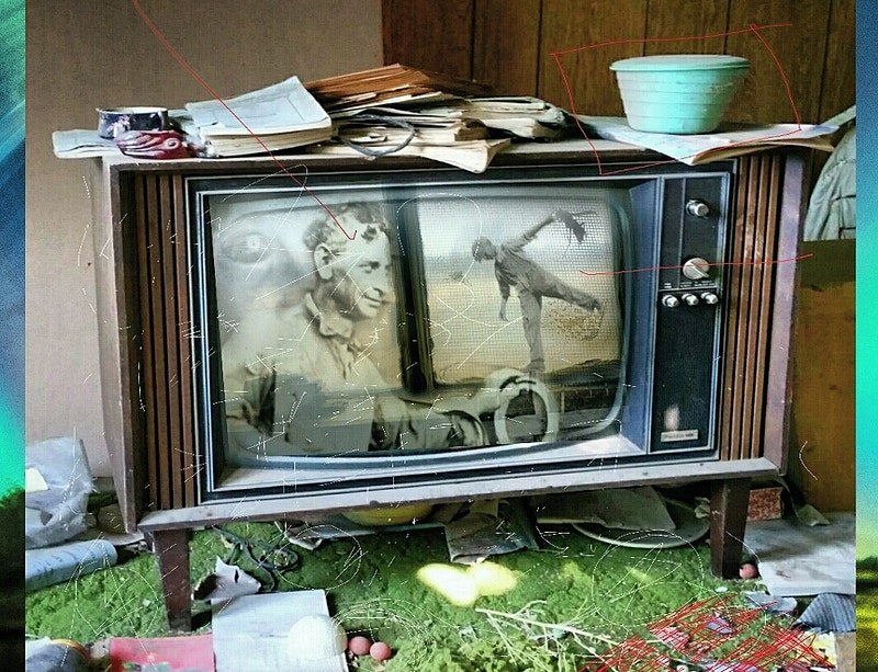 Black and White TV - Michael E Pointer Fine Art