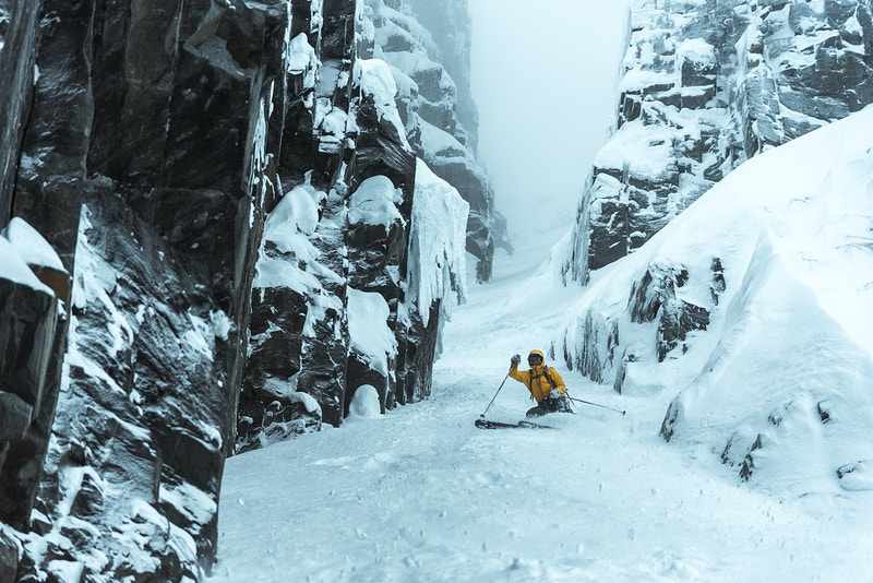 Joffre Couloir - Matthew Tangeman | Adventure Photography