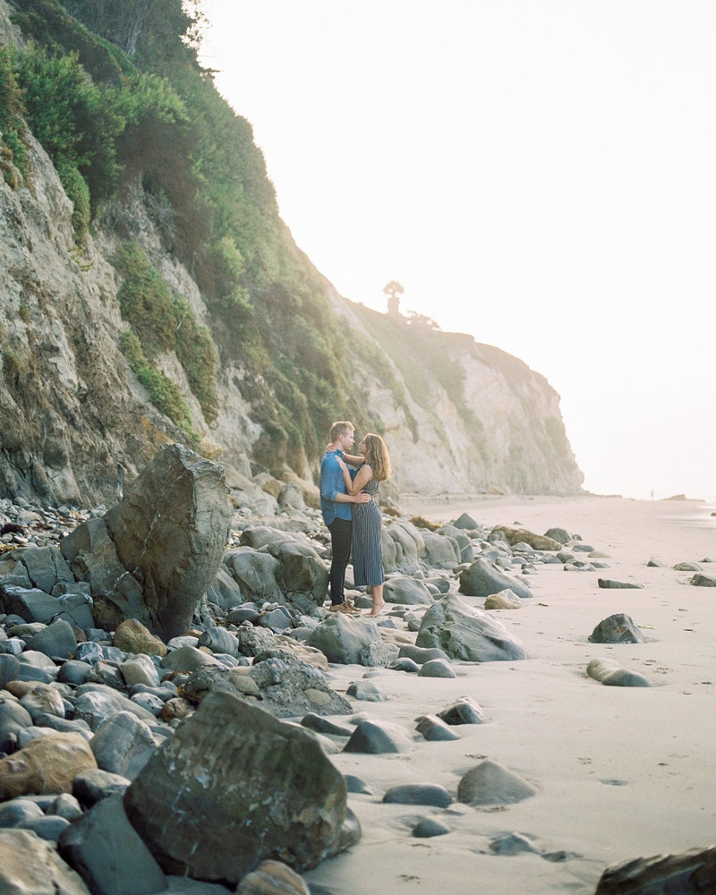 Dylan And Courtney One Thousand Steps Beach - Mist of Morning Photography