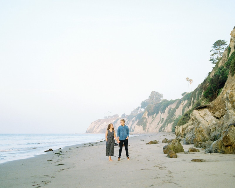 Dylan And Courtney One Thousand Steps California - Mist of Morning Photography