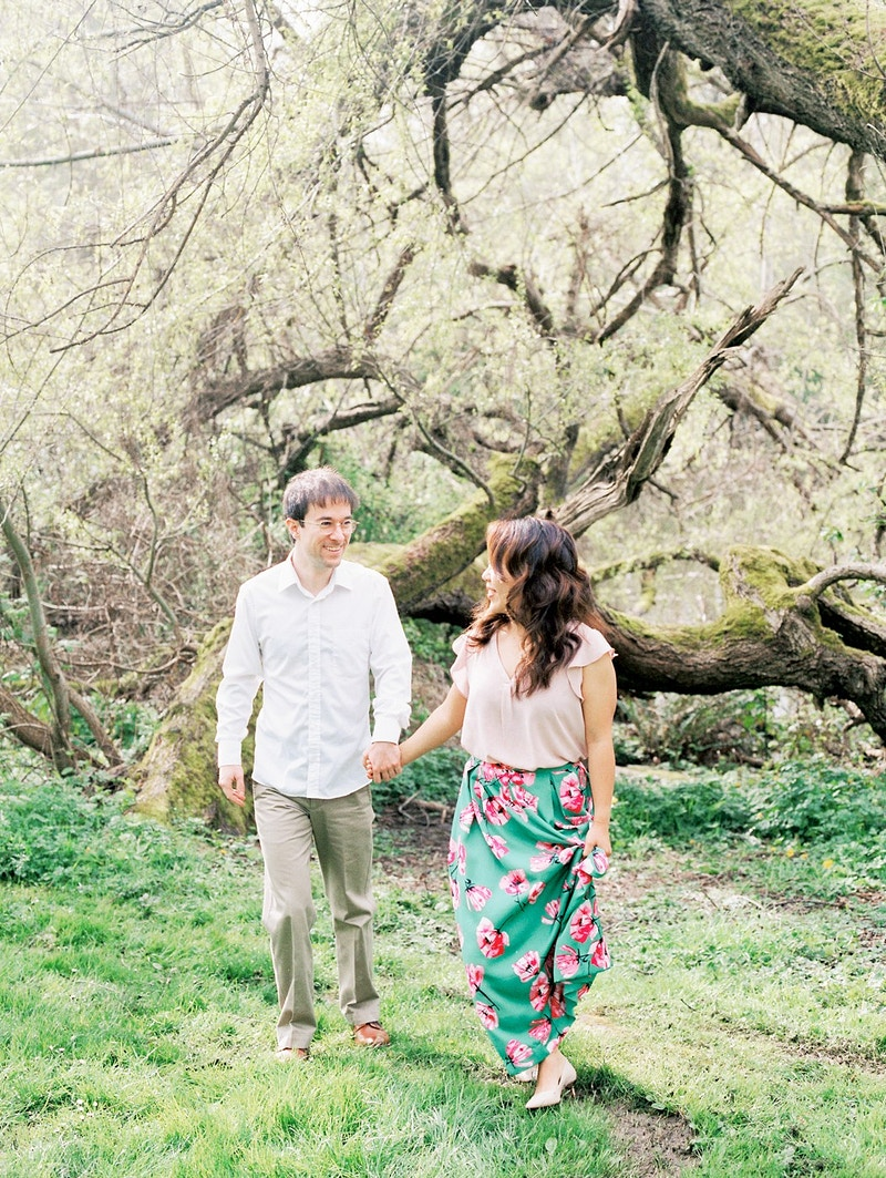 Brittany And Daniel Washington Park Arboretum - Mist of Morning Photography