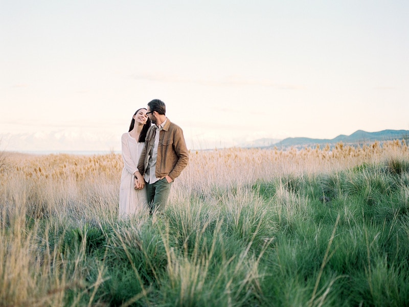 Parker And Monica Utah Lake - Mist of Morning Photography
