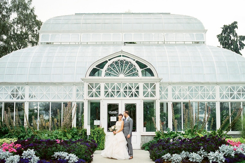 Matt And Beth Volunteer Park Conservatory And Olympic Rooftop Pavilion - Mist of Morning Photography