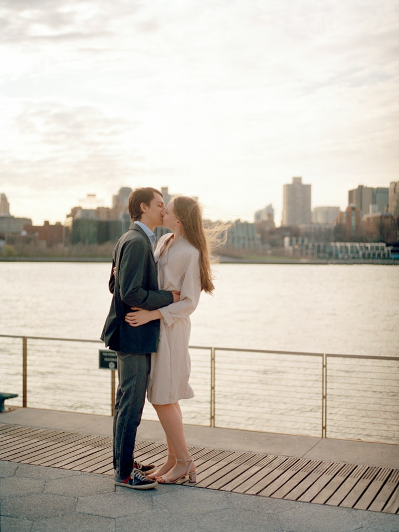 Carlos And Emma Seaport District New York - Mist of Morning Photography