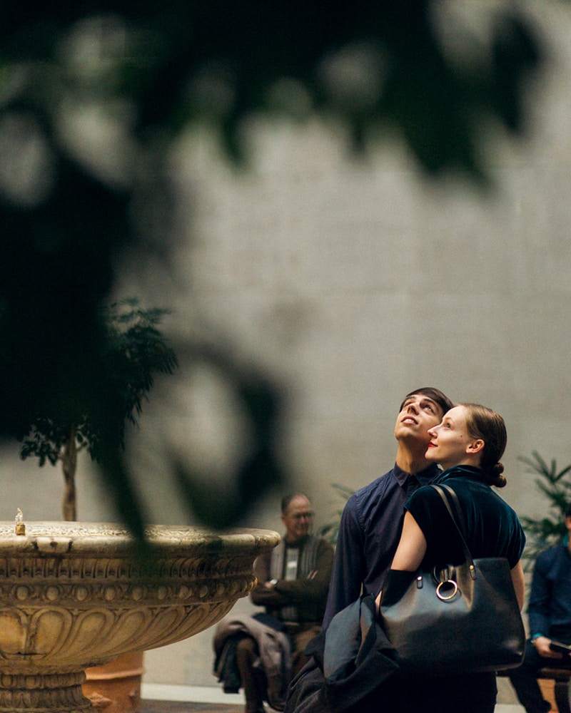 Carlos And Emma Metropolitan Museum Of Art New York - Mist of Morning Photography