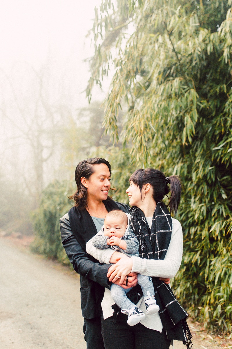 The Duvauchelle Family Seattle Washington - Mist of Morning Photography