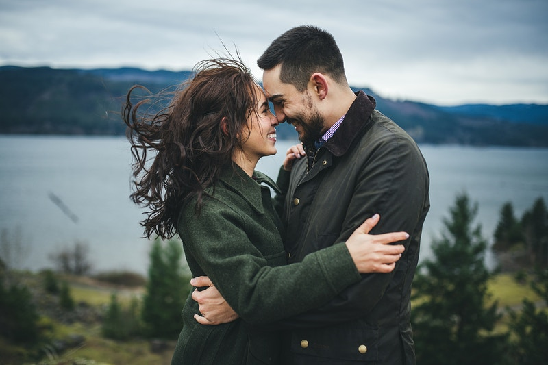 Emily Nauvin Engagement - Nate Smith | Portland Wedding & Portrait Photographer