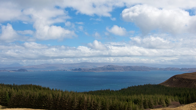 Highlands And Islands Over The Sea To Skye - New Light Dreams