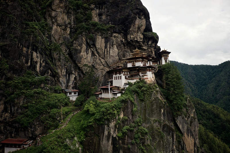 The Tigers Nest Ascent To Taktsang Palphug Monastery - New Light Dreams Photography | CRAIG C LEWIS