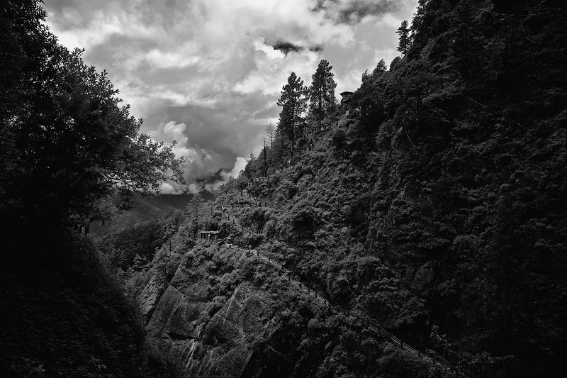 The Tigers Nest Ascent To Taktsang Palphug Monastery - New Light Dreams Photography   CRAIG C LEWIS