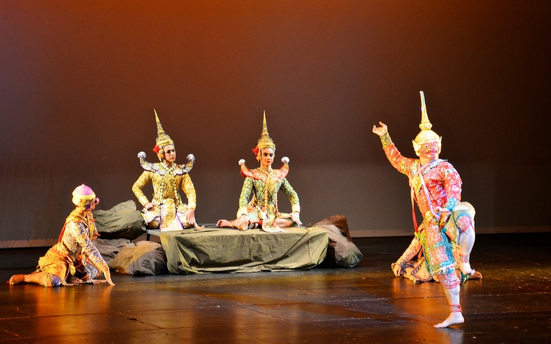 Thai Khon Performance - New Light Dreams | PHOTOGRAPHY BY CRAIG C LEWIS