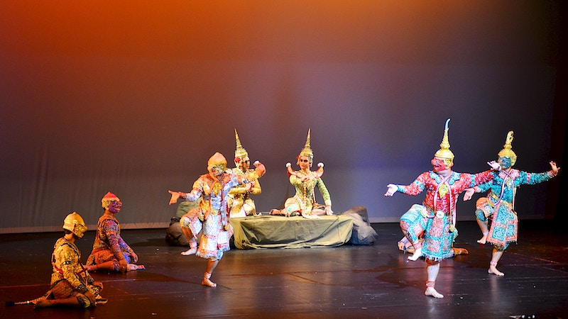 Thai Khon Performance - New Light Dreams
