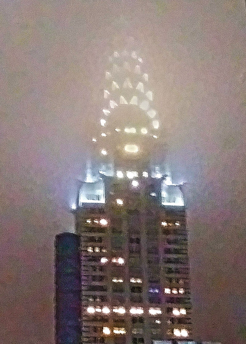 CHRYSLER BUILDING IN CLOUDS - NICHOLAS LIMITED EDITION