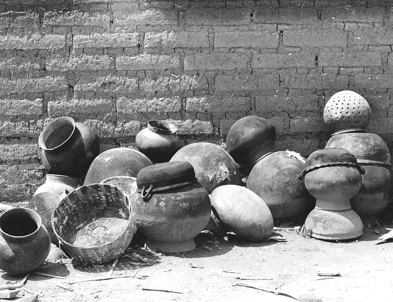 CLAY POTS AND WICKER - NICHOLAS LIMITED EDITION