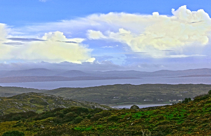 CLOUDS OVER THE BEARA - NICHOLAS LIMITED EDITION
