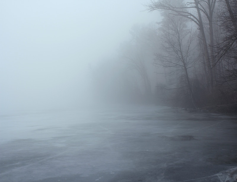 FOG OVER ICE I - NICHOLAS LIMITED EDITION