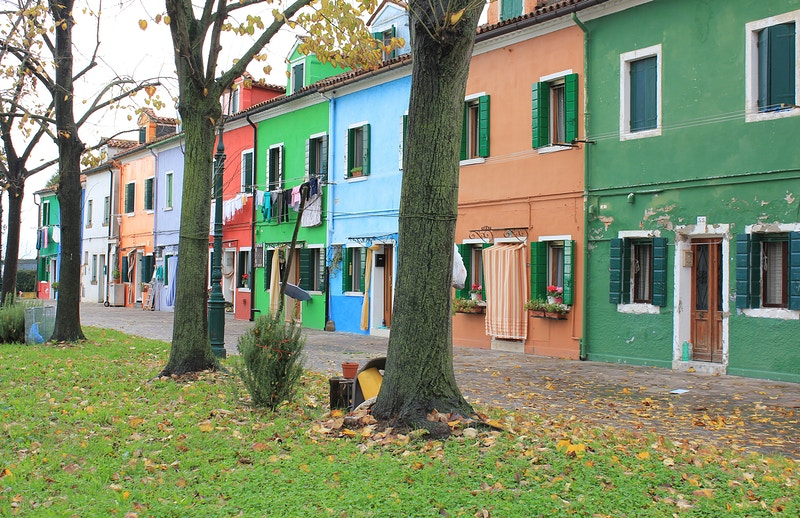 BURANO PAINTED HOUSES II - NICHOLAS LIMITED EDITION
