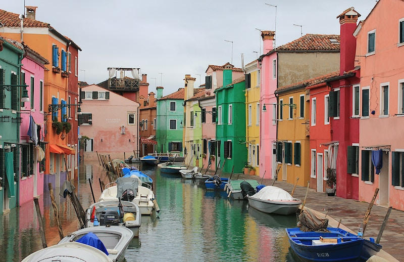 BURANO PAINTED HOUSES I - NICHOLAS LIMITED EDITION