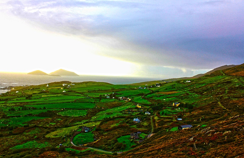RING OF KERRY ISLAND VIEW - NICHOLAS LIMITED EDITION