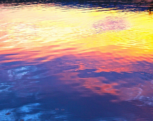SUNSET ON WATER - NICHOLAS LIMITED EDITION