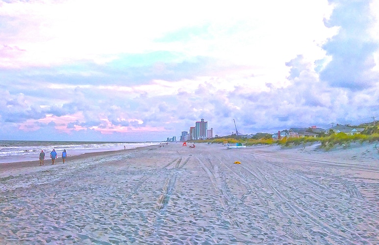 WALKING MYRTLE BEACH - NICHOLAS LIMITED EDITION