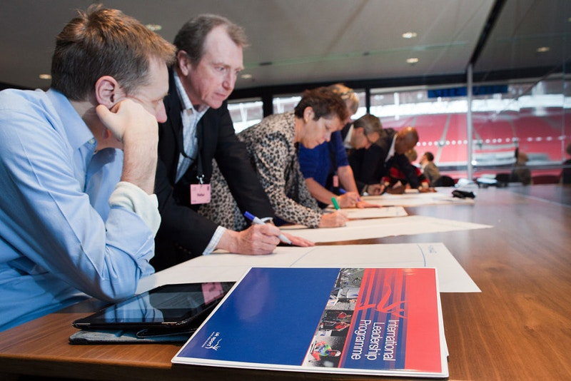 International Leadership Programme at Wembley Stadium - Nina Hollington Photography