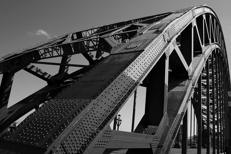 B&W Tyne Bridge - Northbound Photography