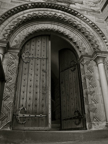 Door To The New Castle - Northbound Photography