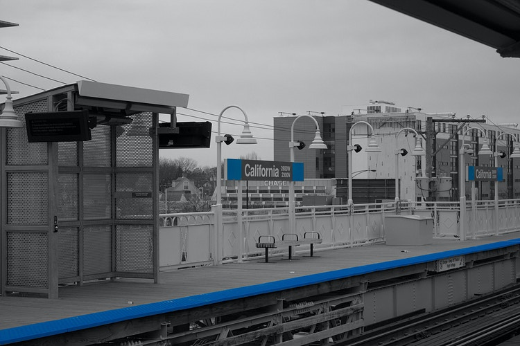 California: Blue Line - Northbound Photography