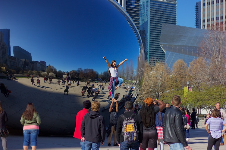 Cloud Gate - Northbound Photography
