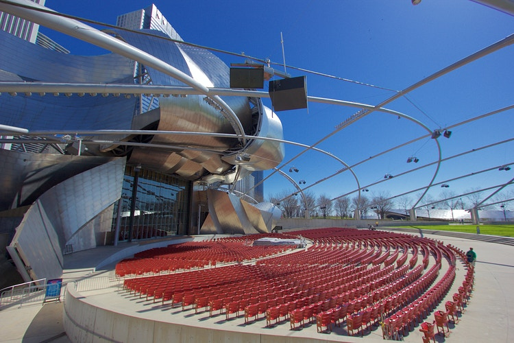 Jay Pritzker Pavilion - Northbound Photography