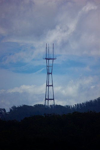 Sutro Tower - Northbound Photography