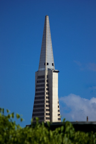 Transamerica Pyramid - Northbound Photography