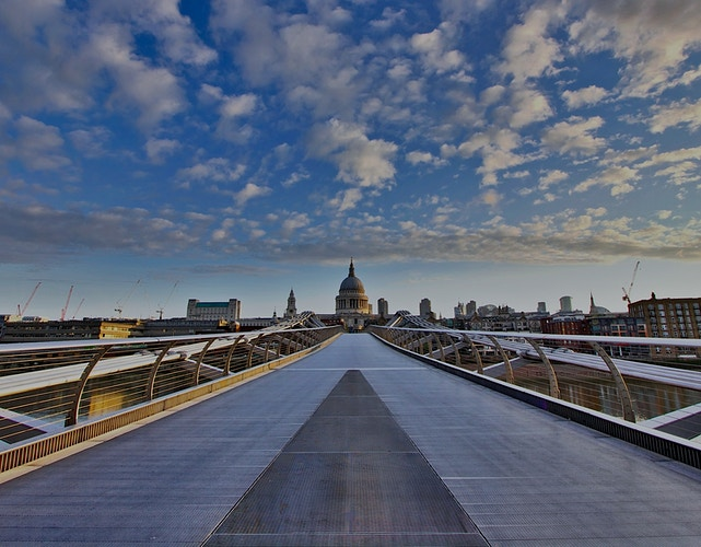 Sunrise above St Pauls - Northbound Photography