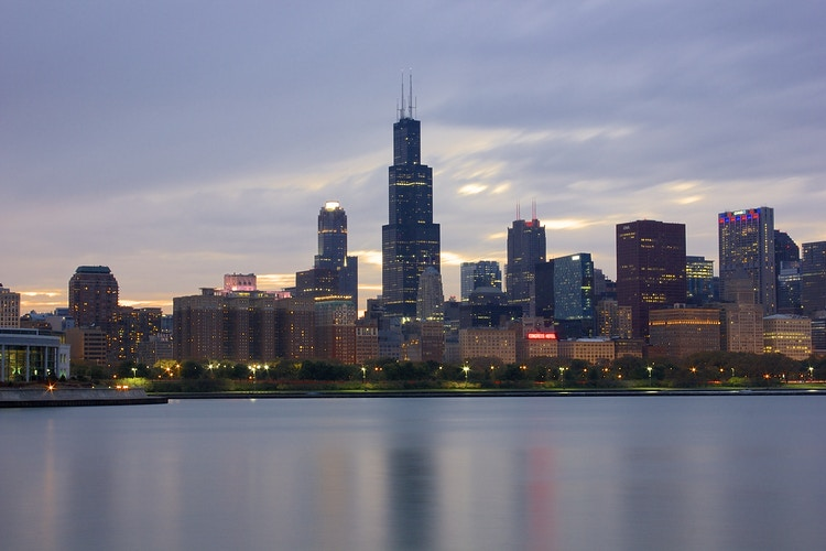 Willis (née Sears) Tower - Northbound Photography