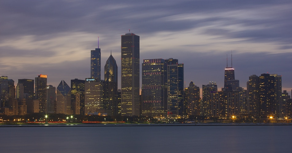 Chicago Skyline - Northbound Photography