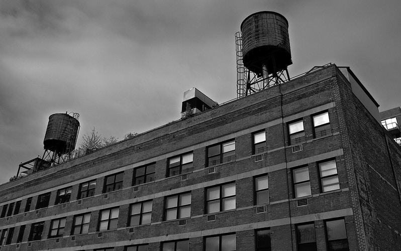 Water Towers - Northbound Photography