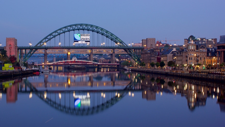 Dusk On The Tyne - Northbound Photography