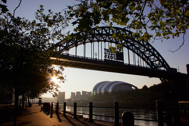 Tyneside Sunrise - Northbound Photography