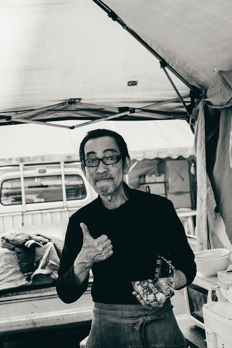 Japan Street Photography - Obaka-san, Photographer in Paris