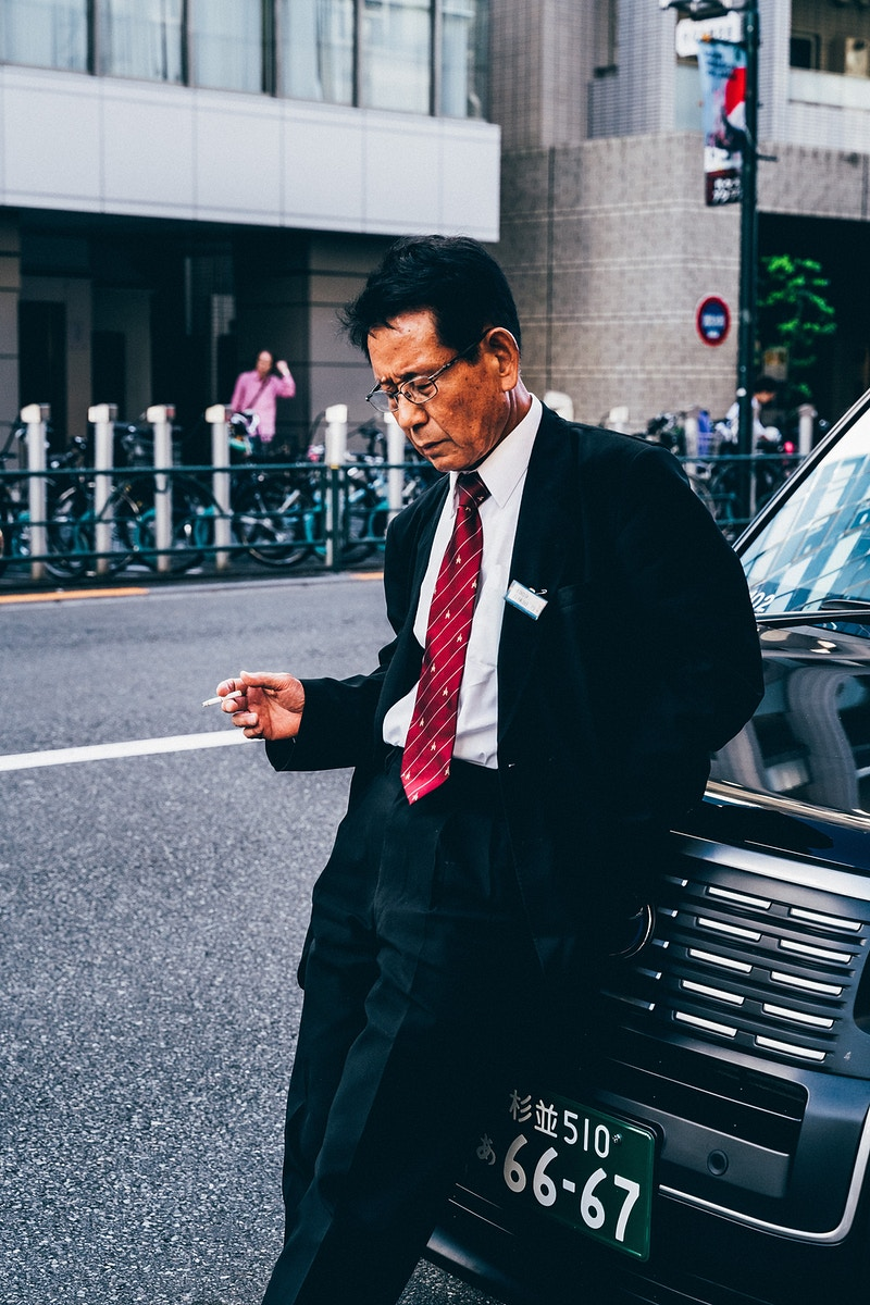Japan - Obaka-san, Photographer in Paris