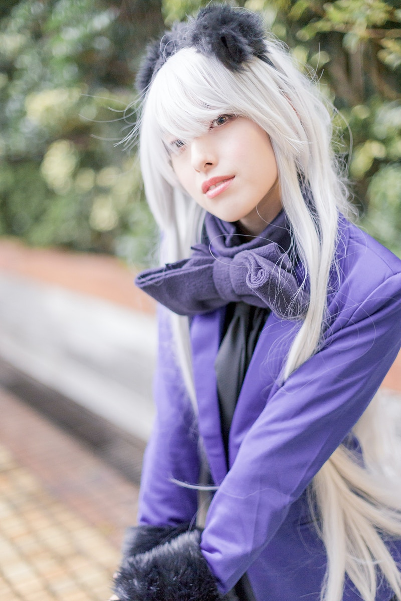 Cosplay - Obaka-san, Photographer in Paris